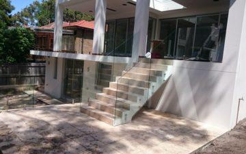 Glass Staircase Balustrade Sydney