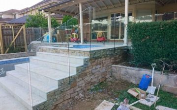 Glass Staircase Balustrade Sydney