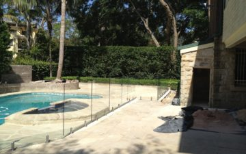 Glass Pool Fencing Western Sydney